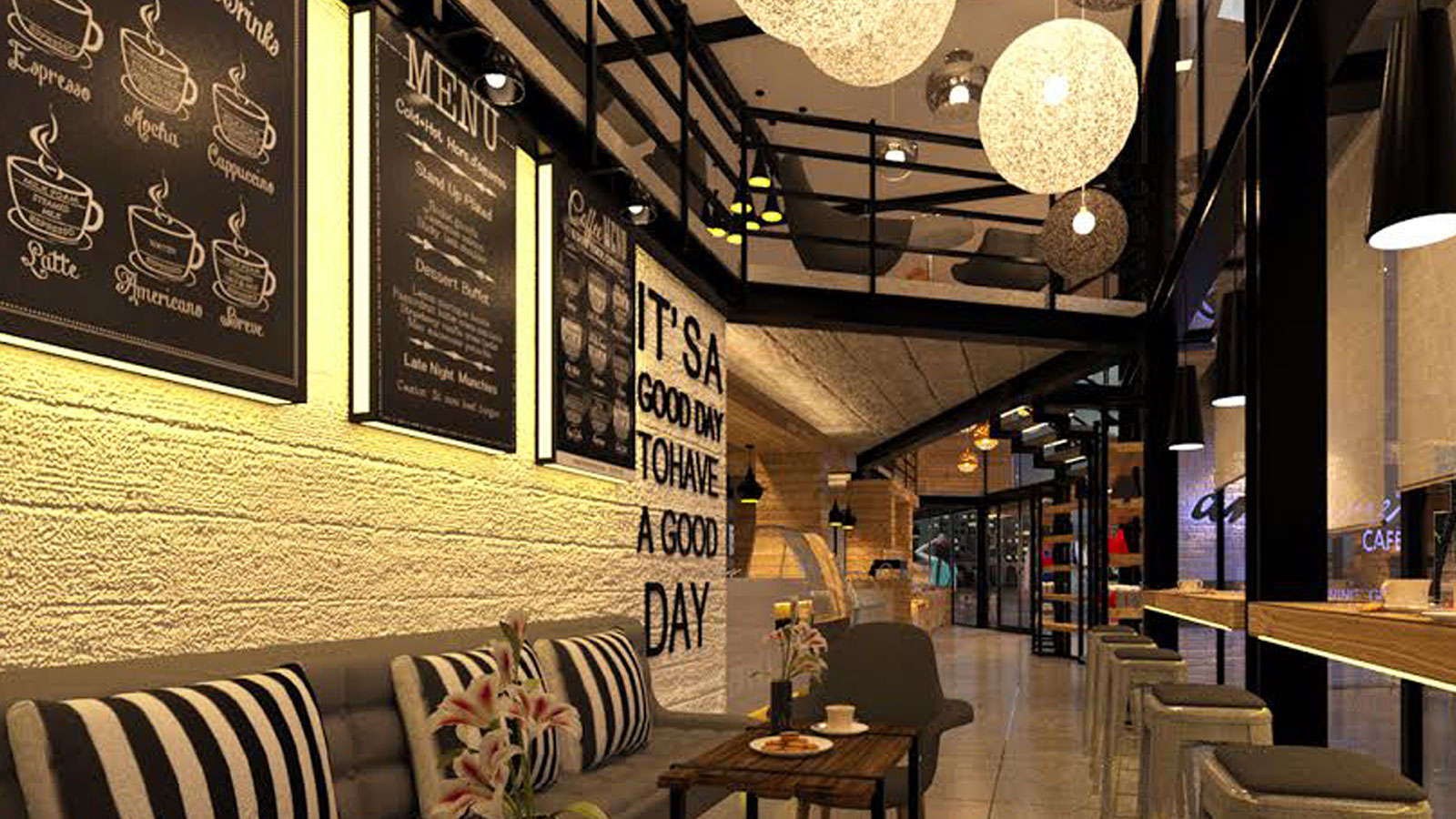 Lava Stone-grilled Seafood & Meat creations, Salads, Pastas, Sandwiches…